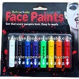 ADITYA INFO™ Face Paint Retractable Crayon Set