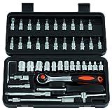 Maletín de herramientas profesional RDM Quality Tools 76029. Kit de destornillador  de 44...