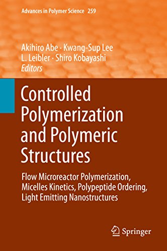 Controlled Polymerization and Polymeric Structures: Flow Microreactor Polymerization, Micelles Kinetics, Polypeptide Ordering, Light Emitting Nanostructures (Advances in Polymer Science) - Flow X-ray