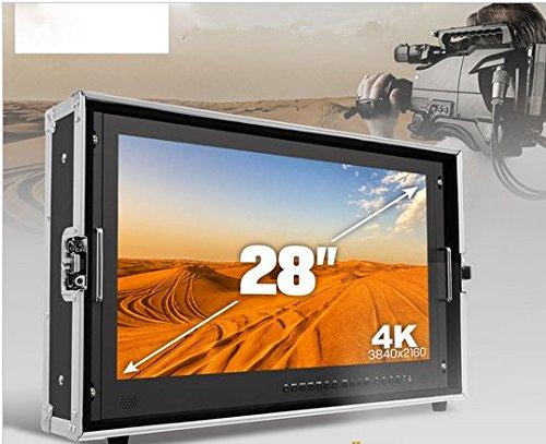 Preisvergleich Produktbild Gowe 71,1cm Broadcast Ultra 4K Video Monitor 3840* 2160Auflösung 3G-SDI HDMI 1000: 1High Kontrast LED-Bildschirm