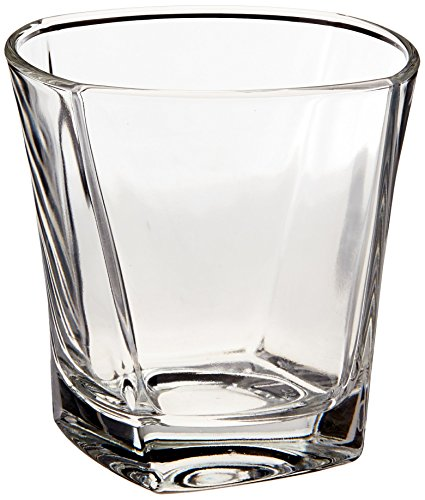 Cozumel Glas (Büro Einstellungen osicpr9Cozumel komplett gehärtet Trinkgläser, Prism Design, Flared Mund, 9oz)