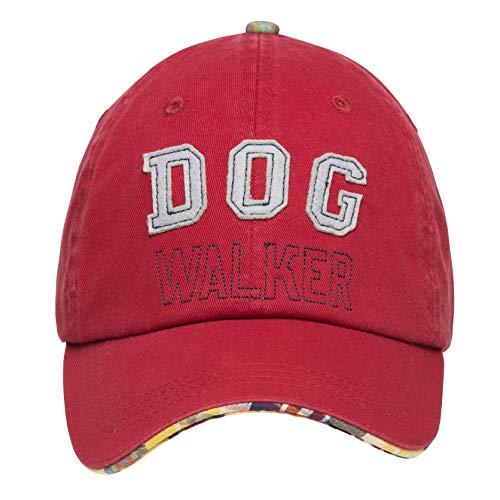 Barkology Walker Cap für Hunde, Rot (An Der Walker Hunde Kostüm)
