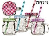 Trinkglas für Kinder oder Shots 200 ml mit Henkel 0716 ~