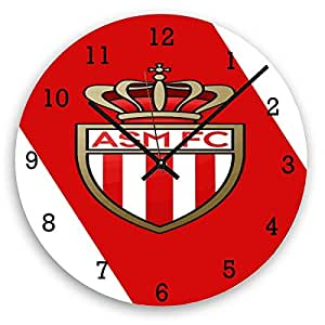Aux Prix Canons - Horloge Murale Foot As Monaco 3