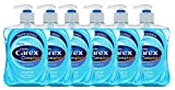 Carex - Pack de 6 botellas de jabón líquido antibacteriano 500 ml