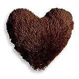 Eminza Cojín Corazón Marmota Chocolate