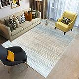 YCMXMY Home Alfombra De Diseño Gradiente Simple Ligera Y Reversible Multifunciona Lavable Base De Caucho 200X300Cm