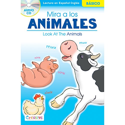 pbs-publishing-paper-creative-teaching-materiali-spagnolo-libro-in-inglese-con-cd-look-at-the-animal