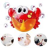 LOTONJT Baby Badewannenspielzeug, Crab Bubbler Spielzeug Badewanne Spielzeug für die Badewanne Seifenblasenmaschine Musik Bubble Machine Spielzeug Badewanne für die Baby Kleinkindspielzeug