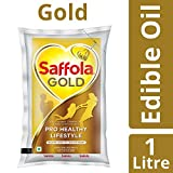 #8: Saffola Gold Edible Oil, Pouch, 1L