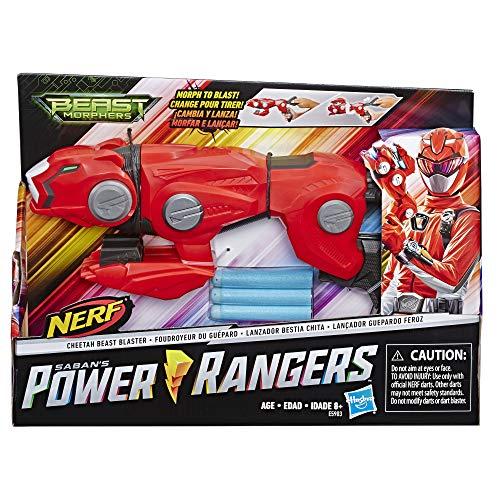 Blaster Transformable Power RangersBeast Morphers - Ranger Rouge- Jouet Power Rangers