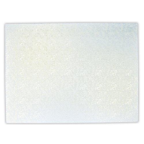 Staedter Rectangle Planche à gâteaux, Blanc, 35 x 25 cm