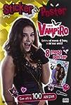 Sticker & poster. Chica Vampiro