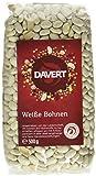 Davert Weiße Bohnen, 4er Pack (4 x 500 g) - Bio