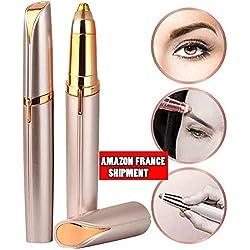 SinMer Depiladoran cejas mejor depilador, lápiz labial portátil de diseño depilatorio de mujeres indoloras (envío de Francia)