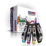 20er multiPack kompatible XL Druckerpatronen zu Brother LC-121 LC-123 (8x BK + je 4x C/M/Y) für Brother DCP-J752DW MFC-J870DW J6920DW J4110DW J4410DW J4510DW J4610DW J4710DW