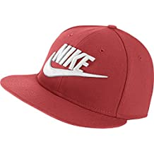 Amazon.it  Cappello visiera NIKE - Rosso 8b1b6f68ff5d