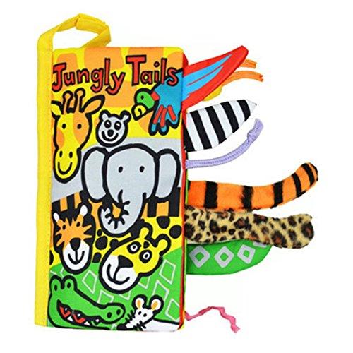 ZIYOU Kinderbücher Intelligenz Entwicklung Cognize Buch Tiere Lernen Bild Tuch (E)