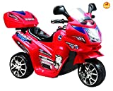 #9: Baybee Samurai FX PB-378R Battery Operated Bike (Red)