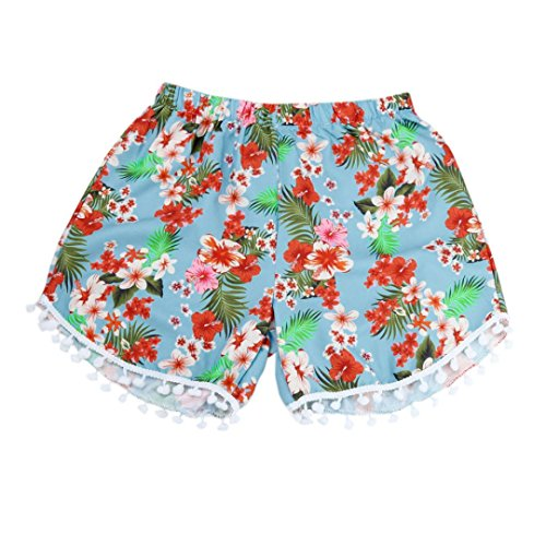 Preisvergleich Produktbild Frauen Sexy gedruckte heiße Hosen YunYoud_Sommer hohe Taille Hose (XL, Mehrfarbig)