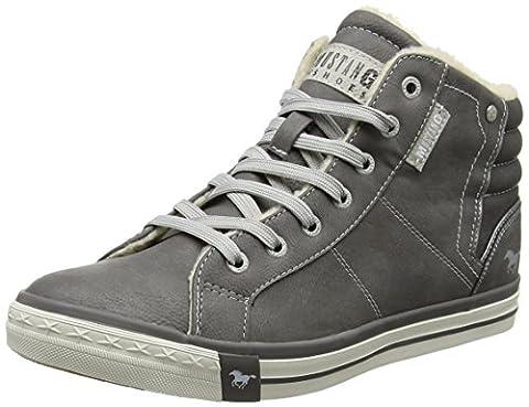 Mustang Herren 4096-601-2 Hohe Sneaker, Grau (Grau), 43 EU