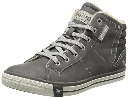 Mustang Herren 4096-601-2 Hohe Sneaker, (Grau), 43 EU