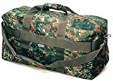 Commando Industries US Army AIRFORCE BAG Große Sport- und Reisetasche Nylon 57L in 3 (Flecktarn)