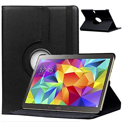 Hülle für Samsung GALAXY Tab S 10.5 Zoll SM-T800 T801 T805 Smart Slim Case Book Cover Stand Flip (Schwarz) NEU