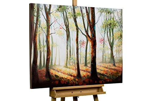 dipinto-in-acrilico-kunstloftr-gioco-di-ombre-nel-bosco-in-100x75cm-tele-originali-manufatte-xxl-for