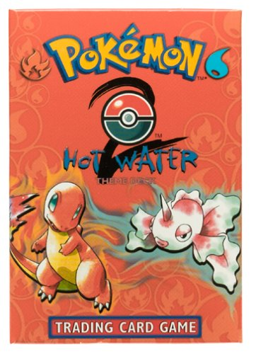 Pokemon Base 2 Preconstructed Hot Water Theme Deck [Toy]