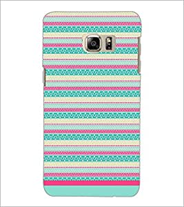 PrintDhaba Tribal pattern D-1770 Back Case Cover for SAMSUNG GALAXY NOTE 5 EDGE (Multi-Coloured)