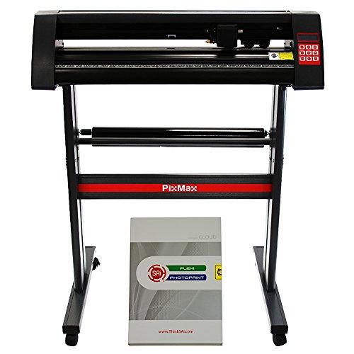 PixMax 72cm Vinyl Plotter Schneideplotter Folienschneider Folienplotter inklusive Software + Gratis 3 x Roland Messer
