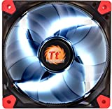 Thermaltake - Luna 12 LED - Ventilateur PC (12V - 20.7 dB - diam: 12cm - 1200 RPM) Blanc