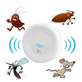 Clock Mosquito Repellent Private Touch Electronic Ultrasonic Mosquito Repellent MultiFunction Household Insect Repeller Mosquito Repellent(1Pcs)