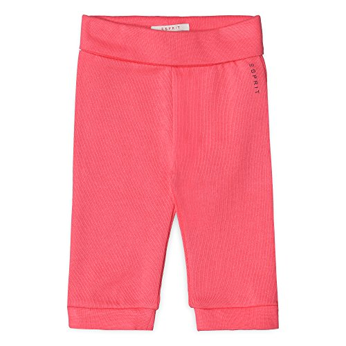 ESPRIT Baby-Mädchen Jogginghose RL2304113, Orange (Coral 323), 62 (Bekleidung Coral Baby)