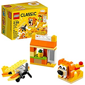 Lego Classic Scatola della Creatività Arancione 10709 (60 Pezzi) 0780116971998 LEGO