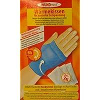 Handgelenk-Bandage mit austauschbaren Wärmekissen - langanhaltende Wärme bis zu 6 Stunden, schmerzlindernd, muskelentspannend... preisvergleich bei billige-tabletten.eu