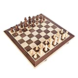 Magnetic Wooden Chess Set Premium 15