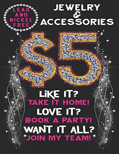 $5 Jewelry And Accessories Lead And Nickel Free. Like it? Take it home Love it?Book a party.Want it all?Join My Team: A 110 Page Jewelry Consultant ... added to your Paparazzi Accessories Supplies