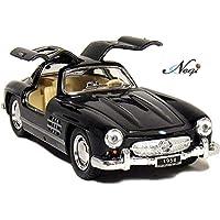 Negi Kinsmart Car 1:36 1954 Mercedes-Benz 300 SL Coupe Car Open Door Car Metal Car Die-Cast Car Pull Back Car (Any One…