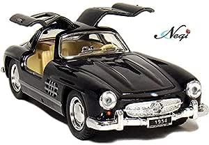 Negi Kinsmart Car 1:36 1954 Mercedes-Benz 300 SL Coupe Car Open Door Car Metal Car Die-Cast Car Pull Back Car (Any One & Colour May Vary) (1954 Mercedes Benz 300 SL)
