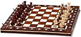 Woodeyland Hand Crafted Wooden SENATOR Chess PROFESSIONAL Set 40 x 40 cm