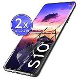 UTECTION 2X Schutzfolie für Samsung Galaxy S10 (6.1
