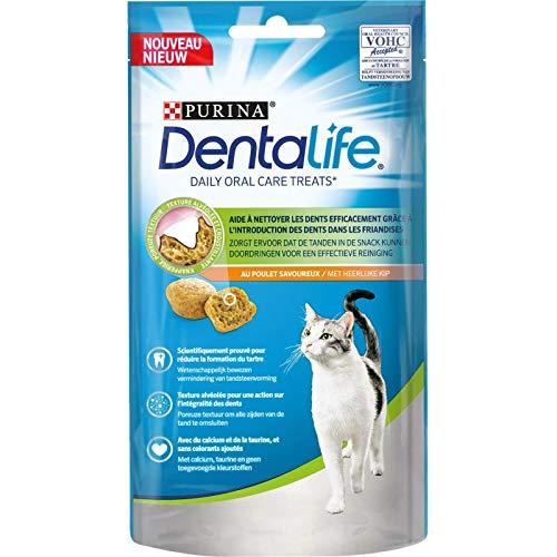 Animalerie Dentalife - Chat Poulet 40g - Lot De 5 - Vendu par Lot - Livraison Gratuite en France