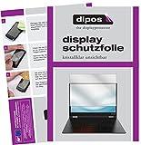 dipos I 2X Schutzfolie klar passend für Lenovo Yoga A12 Folie Bildschirmschutzfolie