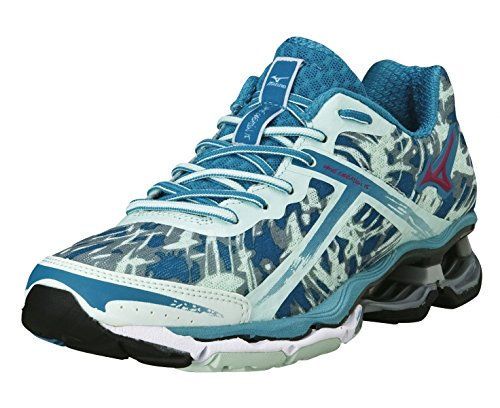 Mizuno Wave Creation 15 Women's Chaussure De Course à Pied - AW14 blue