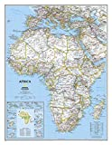 Africa Classic, Enlarged &, Tubed: Wall Maps Continents:...