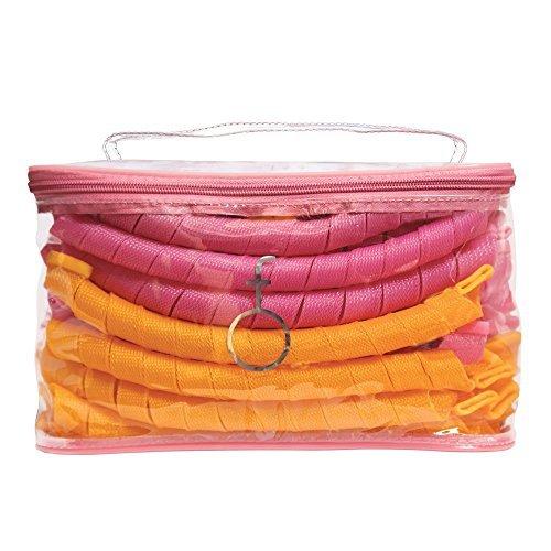 Curlformers Kit de rizado estilo espiral para pelo superlargo