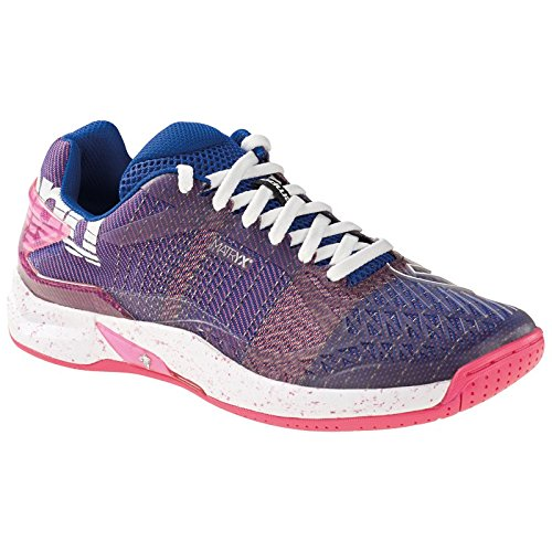 Kempa ATTACK ONE WOMEN CONTENDER, Damen Handballschuhe, Violett (Violet Electrique/Rose Fuschia Violet Electrique/Rose Fuschia), 39.5 EU (6.5 UK)