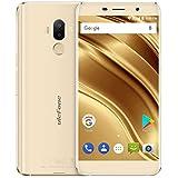Ulefone S8 Pro - 5,3 pouces Écran HD 0.5mm Bezel Android 7.0 4G smartphone, triple caméra (5MP + 5MP + 13MP), Quad Core 2 Go RAM + ROM 16 Go, GPS, Cadre en métal - Or